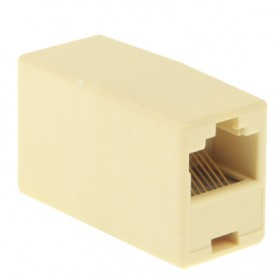 RJ45 Network Changer LAN Extension Adapter Connector