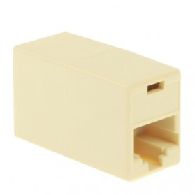 RJ45 Network Changer LAN Extension Adapter Connector - 2