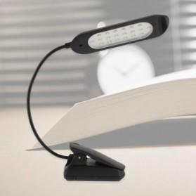 Clip Table Lamp 20 LED Energy Saving - Black - 1