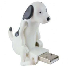 Funny Cute USB Dog Toy - White