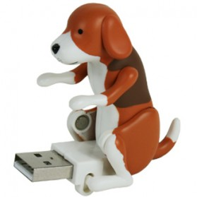 Funny Cute USB Dog Toy - Brown