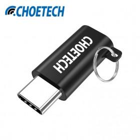 CHOETECH USB Type C to Micro USB Adapter Converter - Black