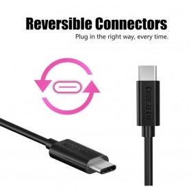 CHOETECH Kabel Charger USB Type C to Type C 1 Meter - CC0002 - Black - 5