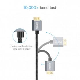 Choetech Kabel Data HDD USB 3.0  to USB 3.0 Micro B 1 Meter- AB0012 - Black - 2