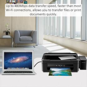 Choetech Kabel Printer USB 3.0 Type A to USB Type B 3 Meter - AB0011 - Black - 4