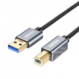 Choetech Kabel Printer USB 3.0 Type A to USB Type B 3 Meter - AB0011 - Black - 5