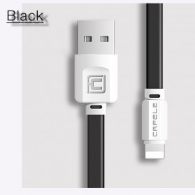 Cafele Kabel Charger Lightning Fast Charging - Black