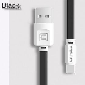 Cafele Kabel Charger USB Type C Fast Charging - Black