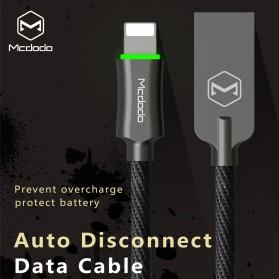 MCDODO Kabel Charger Lightning Premium 1.8 Meter - CA-3904 - Black - 4