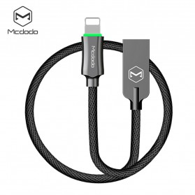 MCDODO Kabel Charger Lightning Premium Auto Disconnect 1.2 Meter - CA-3901 - Black