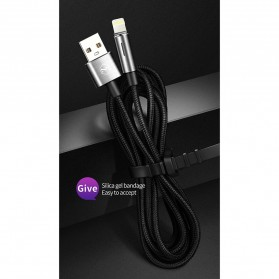MCDODO Kabel Charger Lightning Fast Charging Auto Disconnect 1.2 Meter - CA-4600 - Black - 9