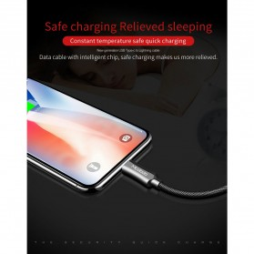 MCDODO Kabel Charger USB Type C to Lightning PD Quick Charge 1.8m - CA-4993 - Black - 4