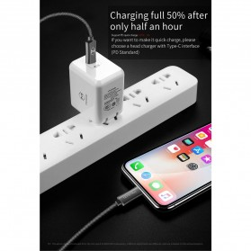 MCDODO Kabel Charger USB Type C to Lightning PD Quick Charge 1.8m - CA-4993 - Black - 5