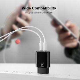 MCDODO Charger USB 2 Port 2.4A  EU Plug - CH-6141 - Black - 5