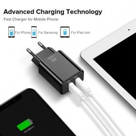 MCDODO Charger USB 2 Port 2.4A  EU Plug - CH-6141 - Black - 6