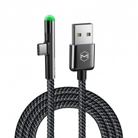MCDODO Kabel Charger USB Type C L Angle LED 1.5 Meter - CA-6390 - Black - 6