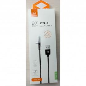 MCDODO Kabel Charger USB Type C L Angle LED 1.5 Meter - CA-6390 - Black - 7