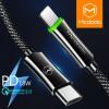 Jual Aksesoris Tablet & Smartphone - MCDODO Kabel Charger USB Type C to Lightning Auto Disconnect 1.2 Meter - CA-642 - Black
