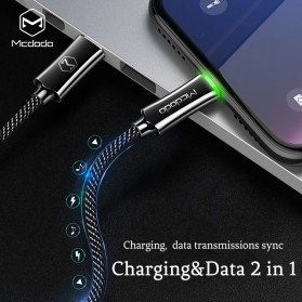 MCDODO Kabel Charger USB Type C to Lightning Auto Disconnect 1.2 Meter - CA-642 - Black - 2