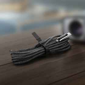 MCDODO Kabel Charger USB Type C to Lightning Auto Disconnect 1.2 Meter - CA-642 - Black - 7