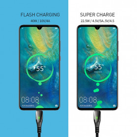 MCDODO Kabel Charger USB Type C Super Fast Charging Auto Disconnect 5A 1.5 Meter - CA-679 - Black - 2
