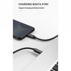 MCDODO Kabel Charger USB Type C to Lightning PD Quick Charge 1.8m - CA-6871 - Black - 10