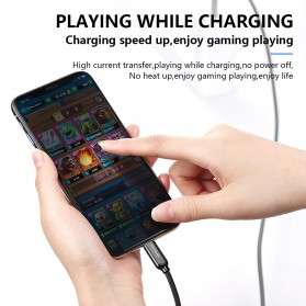 MCDODO Kabel Charger USB Type C to Lightning PD Quick Charge 1.8m - CA-6871 - Black - 3
