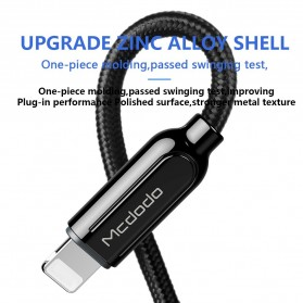 MCDODO Kabel Charger USB Type C to Lightning PD Quick Charge 1.8m - CA-6871 - Black - 4