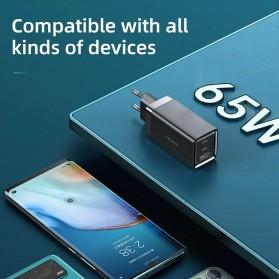 MCDODO GaN Charger USB Type C QC4 PD 3 Port 65W - CA-792 - Black - 7