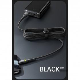 MCDODO Kabel Charger Lightning Fast Charging 2A 1.8 Meter - CA-7843 - Black - 1