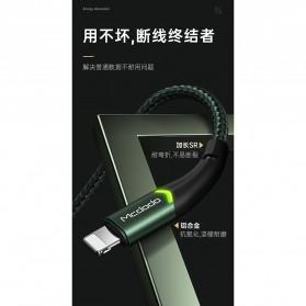 MCDODO Kabel Charger Lightning Fast Charging 2A 1.8 Meter - CA-7843 - Black - 4