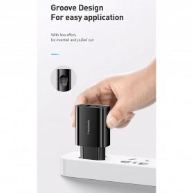 MCDODO Charger USB Type C PD QC4.0 2 Port 20W - CH-8411 - Black - 10
