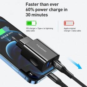 MCDODO Charger USB Type C PD QC4.0 2 Port 20W - CH-8411 - Black - 2