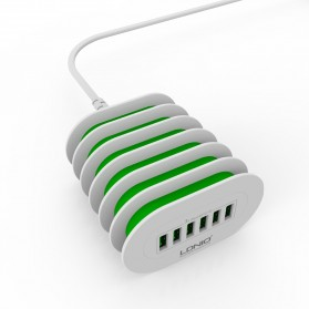 LDNIO USB Travel Charger Station 6 Port 7A - A6702 - White