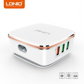 LDNIO USB Travel Charger 6 Port 7A QC2.0 - A6704 - White