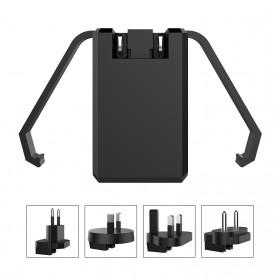 Travel Charger Smartphone USB Type C 2 Port 3.1A - RK-C001 - Black - 5
