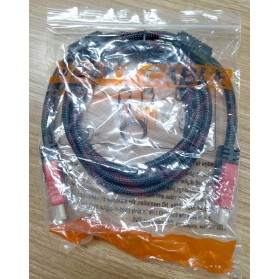 FSU Kabel HDMI Gold Plated High Speed OD7.3mm 1080P 1.5 Meter - SHH11 - Black - 4