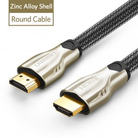 UGREEN Kabel HDMI ke HDMI 2.0 4K 60 FPS Zinc Alloy 2 Meter- HD102 - Golden