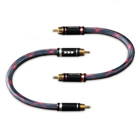 Topping TCR1 Kabel Audio Decoder Power Amplifier RCA Signal Cable 1 Meter - Black - 1