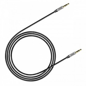 Baseus Yiven Kabel Audio AUX 3.5mm Male to Male 1.5 Meter - CAM30-CS1 - Silver - 4
