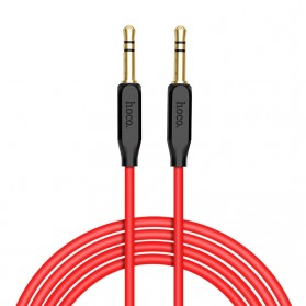 HOCO Kabel Audio AUX 3.5mm Male to Male 1 Meter - UPA11 - Black
