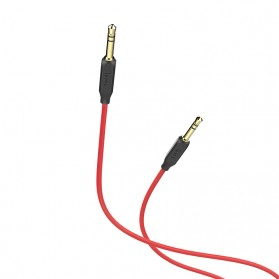 HOCO Kabel Audio AUX 3.5mm Male to Male 1 Meter - UPA11 - Black - 2