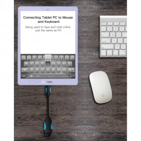 Vention Kabel OTG Micro USB to USB 2.0 L Shape 10cm - Black - 4