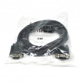 EASYIDEA Kabel VGA 15 Pin Male ke Male 3 Meter - HV1020 - 4
