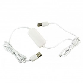 Data Link Cable for Easy Copy File Transfer - DL01 - Black with White Side - 3