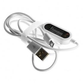 KINRS Kabel Micro USB dengan Proteksi Tegangan Tinggi - CBI-520A - White