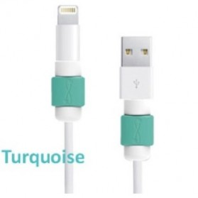 Lightning and Magsafe Saver USB Cable Protector - Blue