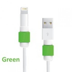 Lightning and Magsafe Saver USB Cable Protector - Green