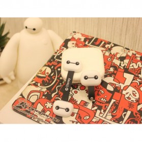 BayMax Big Hero Style Earphone Cable Organizer - White