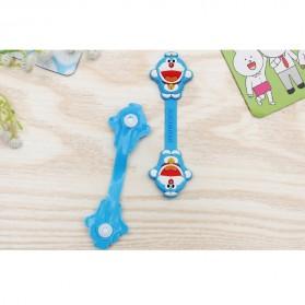 Doraemon Style Earphone Cable Organizer - Blue